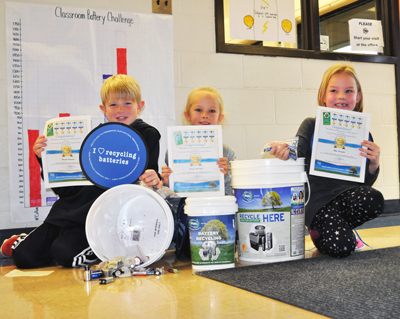 Springfield Public School schools students complete Student Missions for a chance to win prizes in the Ontario Schools Battery Recycling Challenge